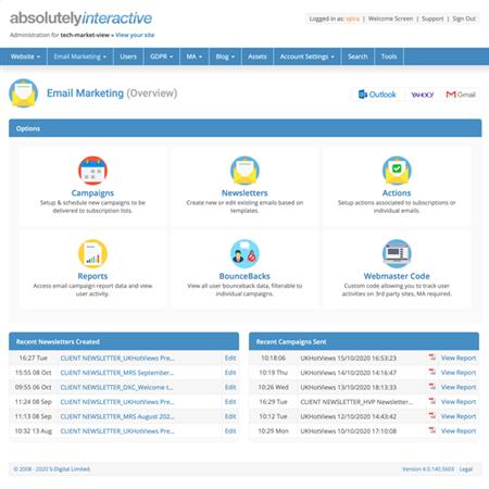 Email Marketing Screenshot
