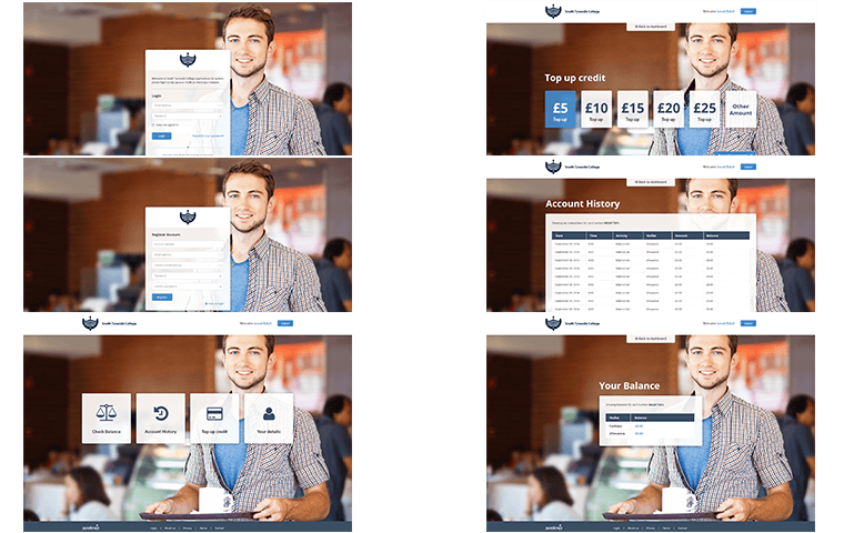 Sodexo Student Payments - Project Image